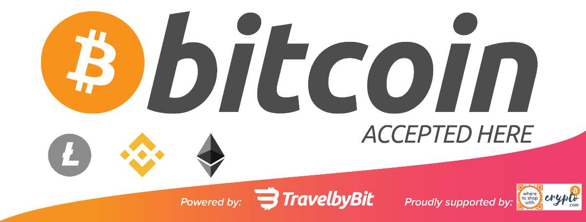 We accept Bitcoin here